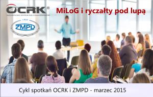 Spotkania OCRK i ZMPD marzec 2015