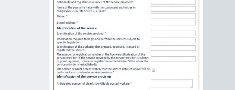 Węgry formularz