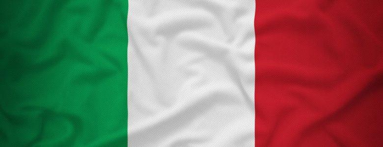 Flaga Włoch wer. 2